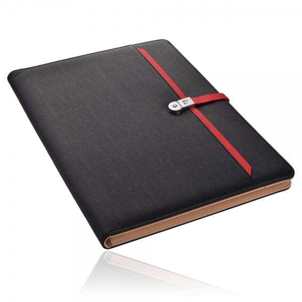 DIMITRI Schreibmappe A4 mit USB Stick