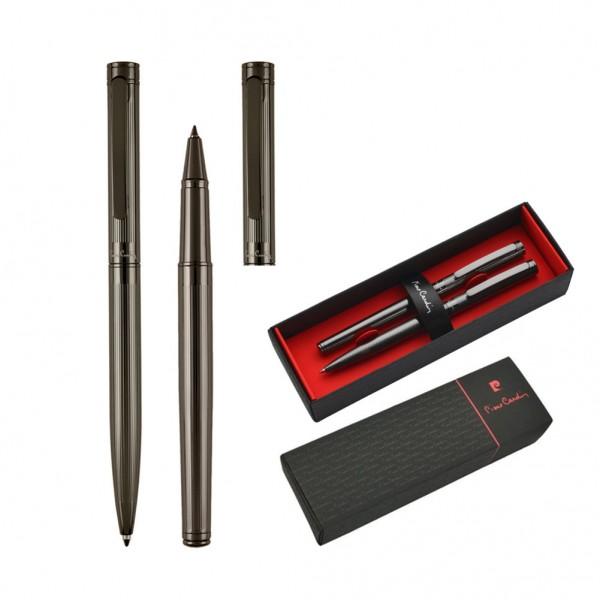 RENEE Set aus Kugelschreiber und Rollerball Pen gunmetal